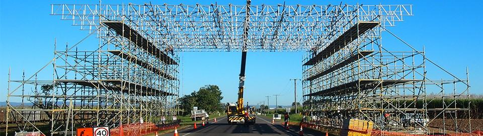Industrial Scaffold Spectacular: North QLD Line Crossings