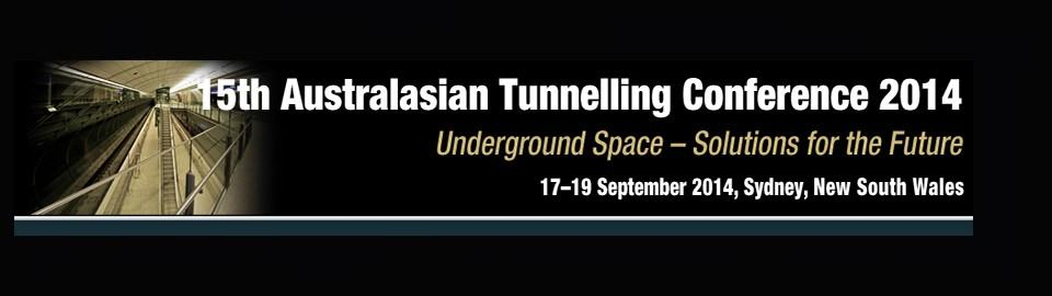 15th Australasian Tunnelling Conference 2014