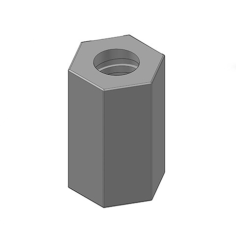 50MM HEX NUT – WELDABLE