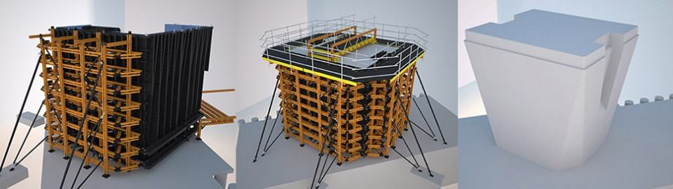 Uni-span's technical expertise trumps unique formwork challenge!